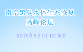 """2019""""黑臭水体综合整治与生态修复发展论坛"""